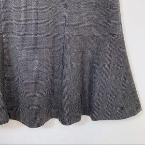 Liz Claiborne Skirts - Plaid Tulip Ruffle Skirt